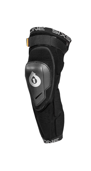 SixSixOne Rage Hard Knee/Shin Guard black